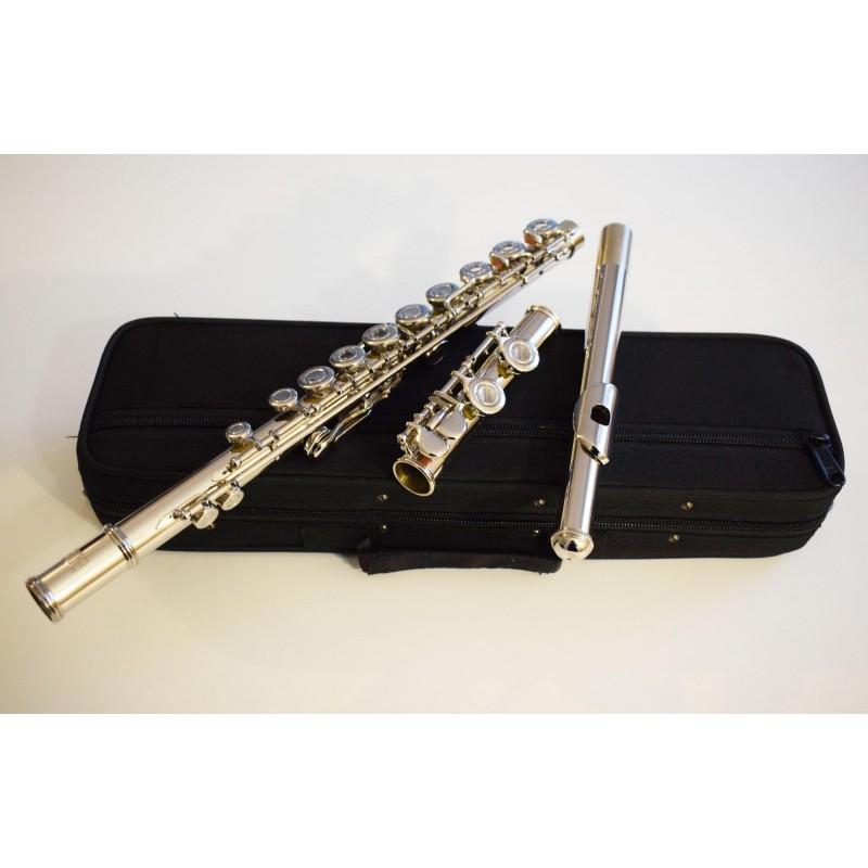 Flûte d'étude Plateaux Creux alignés, 16 clés,  6456 S