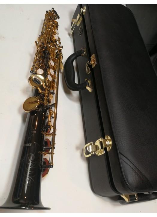 Saxophone Soprano d'ETUDE nickel Noir 6433 BN
