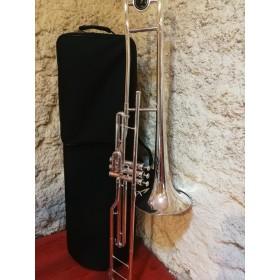 trombone a pistons argenté...