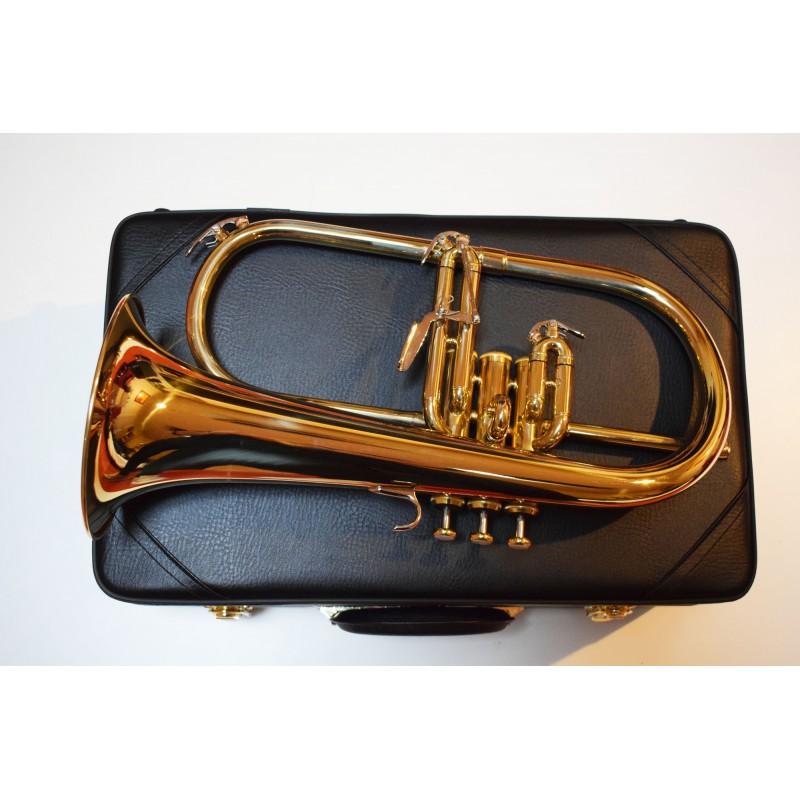 Bugle modèle d'étude - finition dorée 6419 L